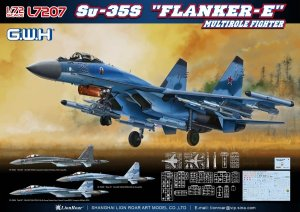 GREAT WALL HOBBY L7207 - 1:72 Su-35S Flanker-E Multirole Fighter