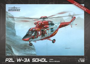 ANSWER AA48006 - 1:48 PZL W-3A Sokół TOPR Rescue Helicopter