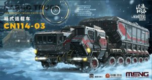 MENG MODEL MMS001 - 1:100 The Wandering Earth - Cargo Truck - Transport Truck CN114-03