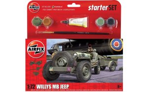 AIRFIX 55117 - 1:72 Willys MB Jeep