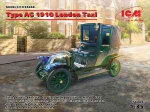 ICM 35658 - 1:35 Type AG 1910 London Taxi