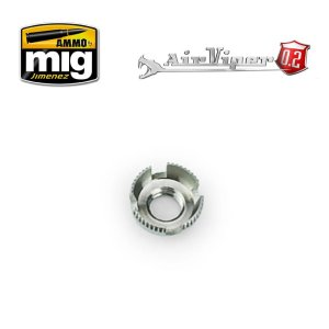 AMMO MIG 8668 - Nozzle cap guard (4 slotted aircap nozzle guard reversible) for AirCobra, AirViper