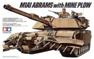 TAMIYA 35158 - 1:35 M1A1 Abrams with Mine Plow