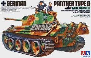 TAMIYA 35176 - 1:35 Panther Ausf.G Late Version