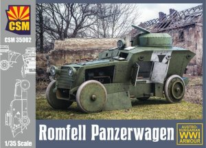 COPPER STATE MODELS CSM 35002 - 1:35 Romfell Panzerwagen - Austro-Hungarian WWI Armour