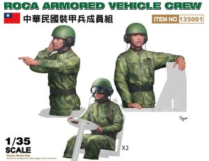 FREEDOM 135001 - 1:35 ROCA Armored Vehicle Crew