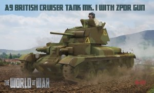 IBG The World At War W-010 - 1:72 A9 British Cruiser Tank Mk.I with 2pdr gun