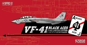 GREAT WALL HOBBY S7202 - 1:72 F-14A Tomcat US Navy VF-41 Black Aces - Limited Edition