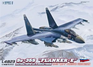 GREAT WALL HOBBY 4823 - 1:48  Su-35S Flanker-E Multirole Fighter Air to Surface Version