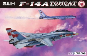 GREAT WALL HOBBY L7206 - 1:72 F-14A Tomcat