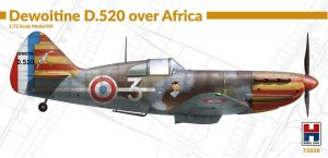 HOBBY 2000 72026 - 1:72 Dewoitine D.520 over Africa