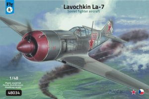 FLY 48034 - 1:48 Lavochkin La-7 Soviet fighter aircraft
