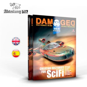 ABTEILUNG 502 ABT732 Damaged Sci-Fi Special Edition Weathered & Worn Models Magazine