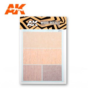 AK INTERACTIVE 9084 Decals: Wood