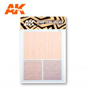 AK INTERACTIVE 9082 Decals: Wood Veins