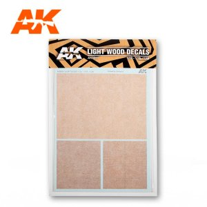AK INTERACTIVE 9081 Decals: Light Wood