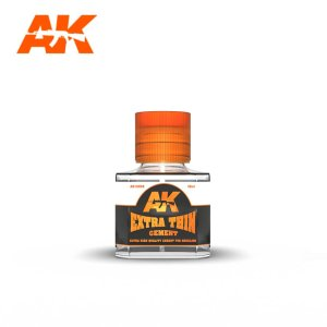 AK INTERACTIVE 12002 Extra Thin Cement 40 ml