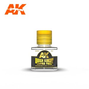 AK INTERACTIVE 12001 Quick Cement Extra Thin 40 ml