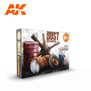 AK INTERACTIVE 11605 - Rust and Abandoned Set 6 x 17 ml