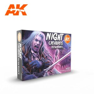 AK INTERACTIVE 11602 - Night Creatures Flesh Tones Set 6 x 17 ml