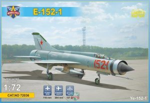 MODELSVIT 72036 - 1:72 Ye-152-1 experimental interceptor