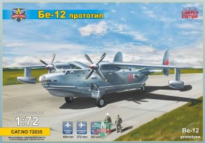 MODELSVIT 72035 - 1:72 Beriev Be-12 Prototype flying boat