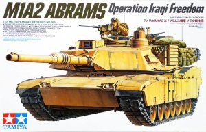 TAMIYA 35269 - 1:35 M1A2 Abrams Operation Iraq Freedom
