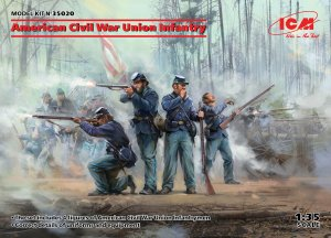 ICM 35020 - 1:35 American Civil War Union Infantry