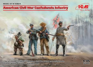 ICM 35021 - 1:35 American Civil War Confederate