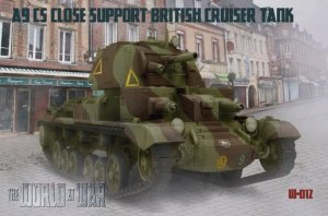 IBG The World At War W-012 - 1:72 A9 CS Close Support British Cruiser Tank Mk. VI