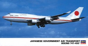 HASEGAWA 10709 - 1:200 Japanese Government Air Transport Boeing 747-400