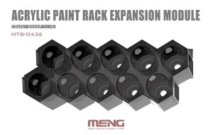 MENG MODEL MTS043A - Acrylic Paint Rack Expansion Module for MTS043