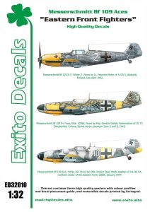 EXITO DECALS ED32010 - 1:32 Eastern Front Fighters