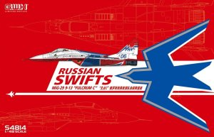 GREAT WALL HOBBY S4814 - 1:48 MiG-29 Fulcrum C Russian Swifts - Limited Edition