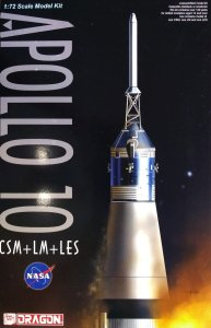 DRAGON 11003 - 1:72 Apollo 10 CSM + LM + LES