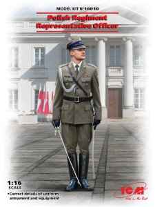 ICM 16010 - 1:16 Polish Regiment Representative Officer