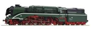 ROCO 70202 H0 - Steam locomotive 02 0201-0 DR with sound.