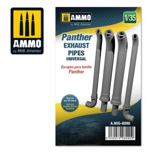 AMMO MIG 8090 - 1:35 Panther exhausts pipes universal