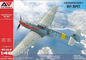A&A MODELS 4806 - 1:48 Messerschmitt Bf 109T Carrier-based fighter-bomber