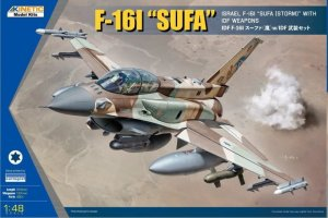 KINETIC 48085 - 1:48 F-16I Sufa with IDF Weapon