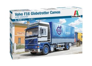 ITALERI 3945 - 1:24 VOLVO F16 Globetrotter Canvas with elevator