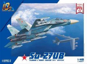 GREAT WALL HOBBY 4827 - 1:48 Su-27UB Flanker C Heavy Fighter