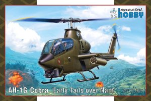 SPECIAL HOBBY 72427 - 1:72 AH-1G Cobra - Early Tails over Nam