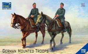 RIICH MODELS 35038 - 1:35 German Mounted Troops