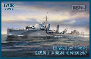 IBG 70011 - 1:700 HMS Ilex 1942 British I-class destroyer