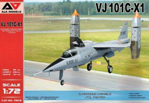 A&A MODELS 7203 - 1:72 VJ101C-X1 Supersonic VTOL fighter