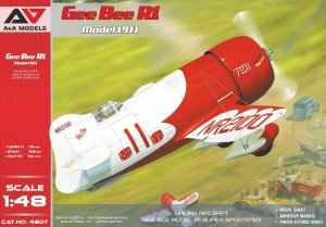 A&A MODELS 4807 - 1:48 Gee Bee R1 Model 1933