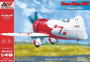 A&A MODELS 4805 - 1:48 Gee Bee R2 Model 1933
