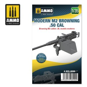 AMMO MIG 8099 - 1:35 Modern M2 Browning .50 cal