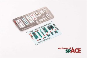 ED-3DL72002 - 1:72 MiG-21MF Space - 3D Decals + PE